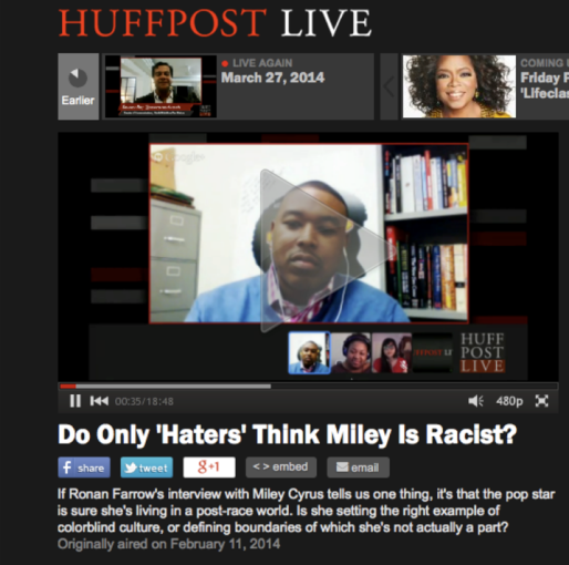 akil_houston_miley_cyrus_HuffPost Live